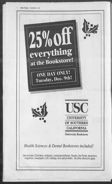 Daily Trojan, Vol. 132, No. 66, December 05, 1997