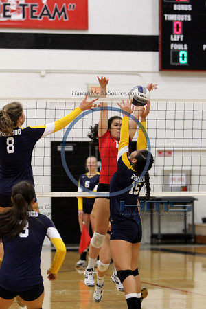 Punahou Girls Volleyball - Iol 10-1-13