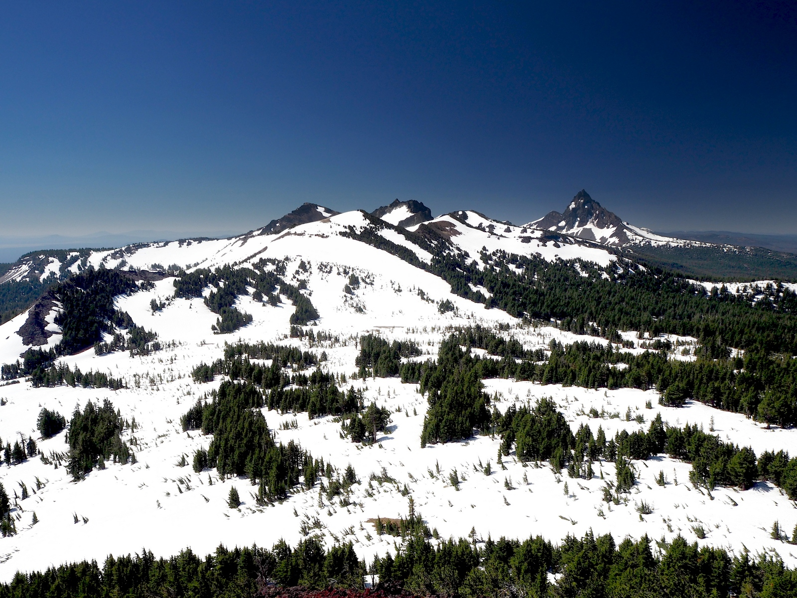 Tipsoo Peak Mount Thielsen Wilderness Oregon