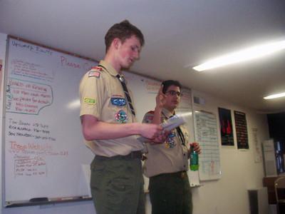 Troop Meeting - Mar 22