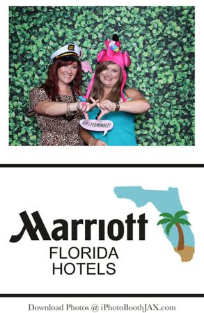Florida Marriott Luau Party