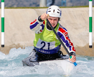 C1 Men - GB Selection Trials 2013 - 1st Run - Sun - Lee Valley