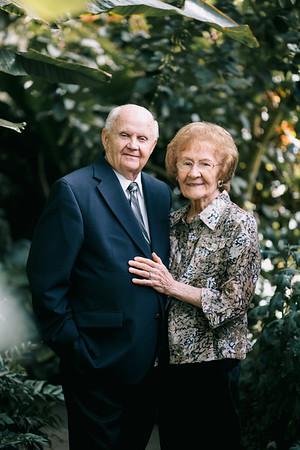 Grandma & Grandpa Pegg 65th Anniv
