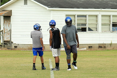 Bladen County 2019 Official football practice