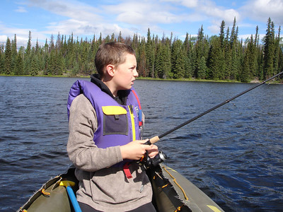 Fly-in fishing trip to Tsacha Lake 2005