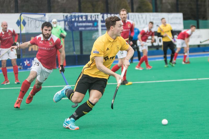 Beeston  v Holcombe Hockey Club -Home win 2-0