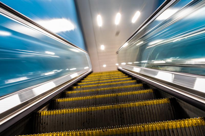 Escalator Vision - Birmingham New Street