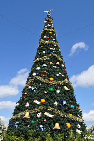 Christmas at Epcot