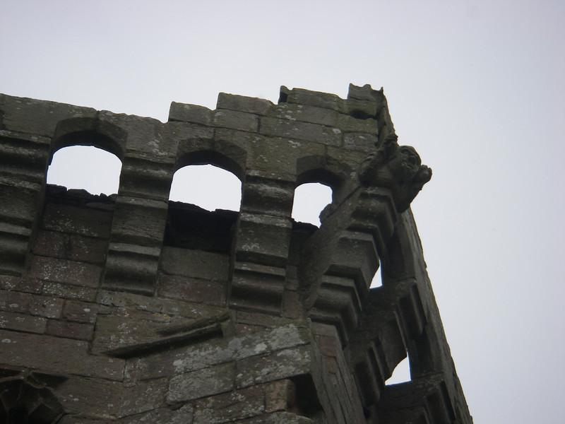 Castle Rhaglan gargoyle