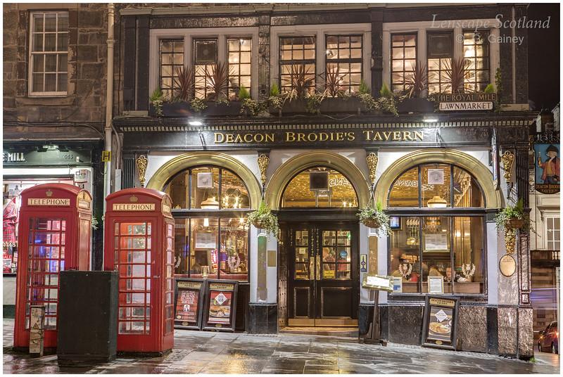 Deacon Brodie's Tavern, Lawnmarket