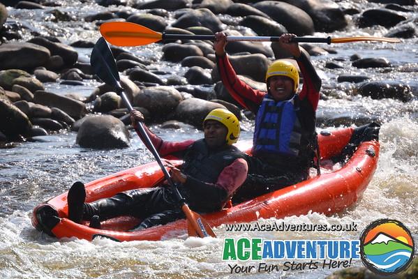 21st of April- Canoe/Kayaking On The River Findhorn, Near Aviemore