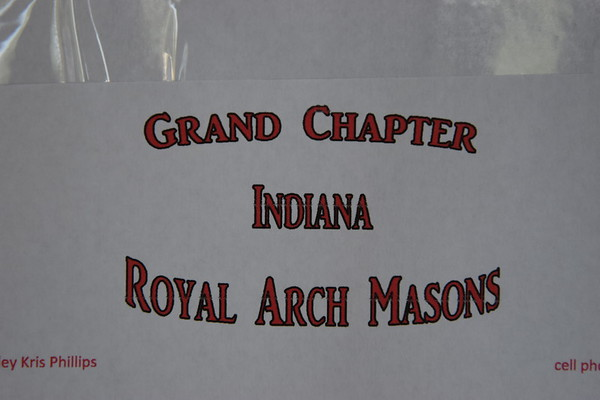 Grand Chapter R.A.M. Session Aug 15 2020