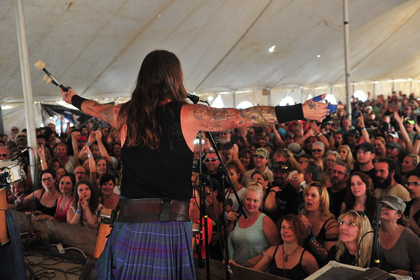 2015 ScotFest Rock Bands and fans