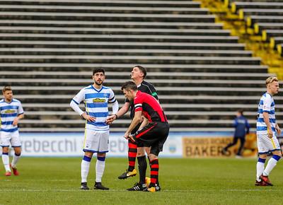 Greenock Morton  FC v Dumbarton FC. William Hill Scottish Cup, 5th Round. Saturday, 10th February 2018.