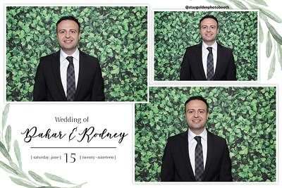 Bahar and Rodney's Wedding