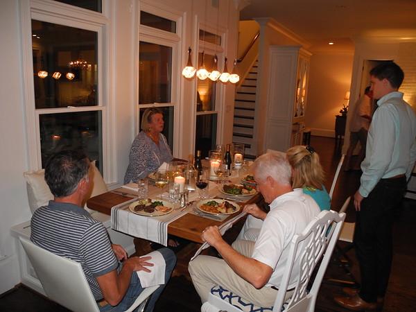 Dinner at Peg & Peter's 9/11/16