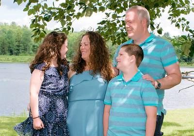 Murray Family in Summer 2017