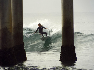 3/5/20 * DAILY SURFING PHOTOS * H.B. PIER
