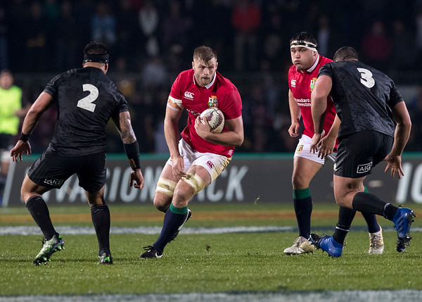 George Kruis during game 5 of the British and Irish Lions 2017 Tour of New Zealand,The match between  The Maori All Blacks and British and Irish Lions, Rotorua International Stadium, Rotorua, Saturday 17th June 2017 (Photo by Kevin Booth Steve Haag Sports)  Images for social media must have consent from Steve Haag