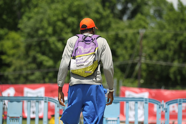 Grant Holloway -- 2013 New Balance Outdoor Nationals