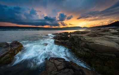 Landscape. Waterscape. Oceanscape. Cityscape.