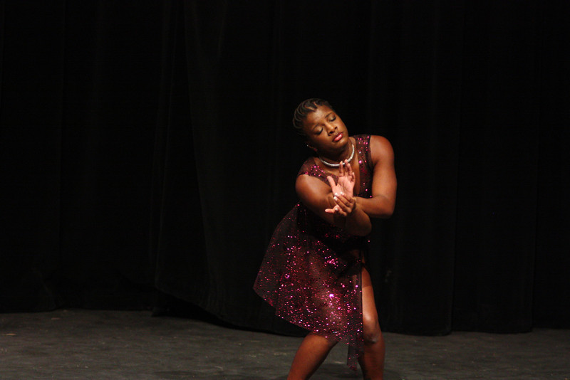 Tyniesha Lee showcases her talent with a dance performance
