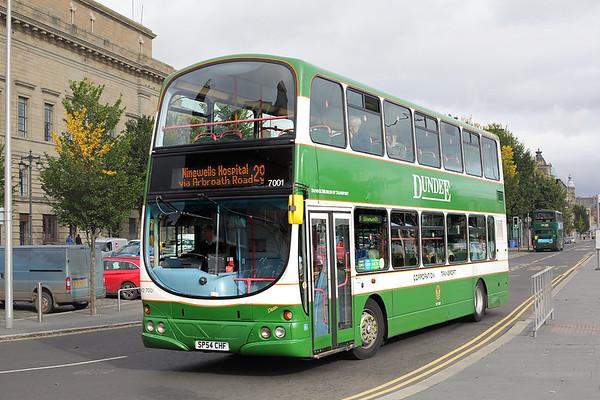 9th October 2017: Dundee and Edinburgh