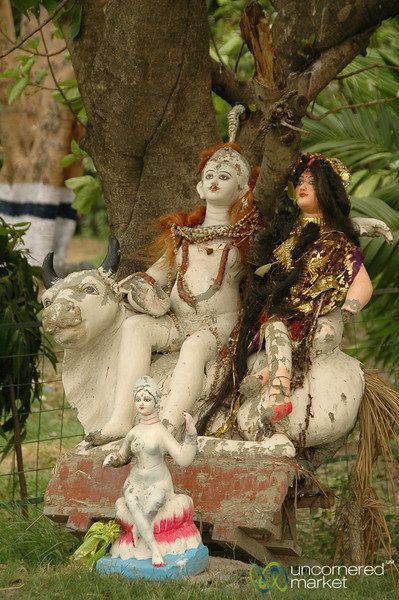 Statues in the Park - Kolkata, India