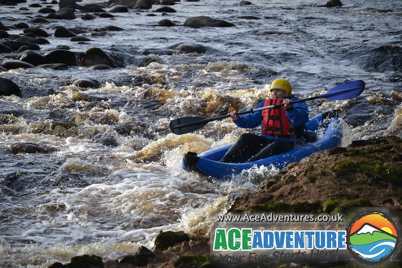 18th October Middle Findhorn Canoe Kayak