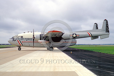 C-119 Fairchild Easter Egg Colorful Military Airplane Pictures-US Air Force