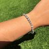 10.50ctw Round Brilliant Diamond Tennis Bracelet 12