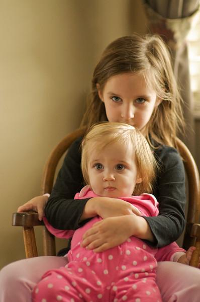 Caitlin & Allison 12-6-09
