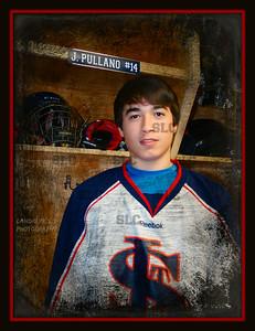 Varsity Hockey head shots