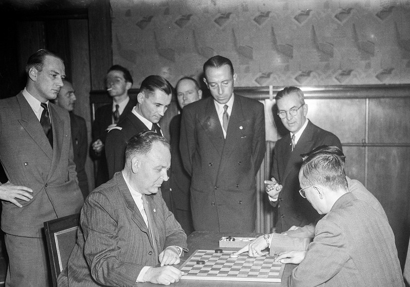 Ontvangst deelname WK 1952 Amsterdam