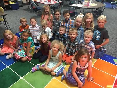 kindergarten whole class fall