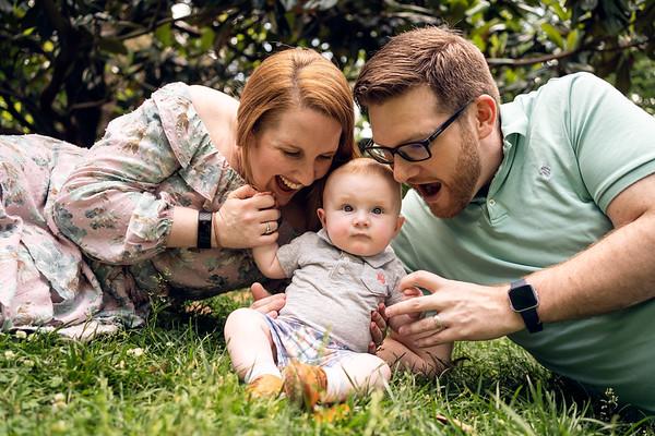 Alicia and Larry - Family Mini Spring 2021