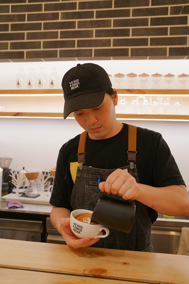 Chief Barista Yuki Takeuchi Baristart Coffee