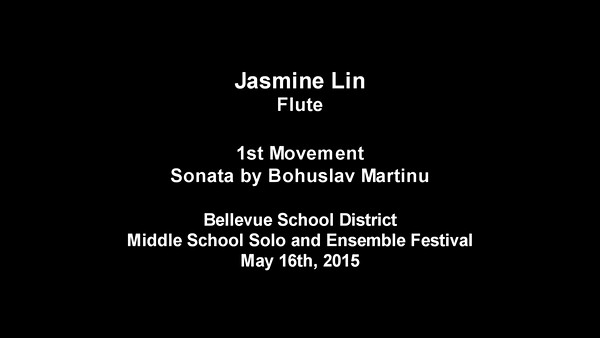 Bellevue School District Middle School Solo and Ensemble Festival 2015