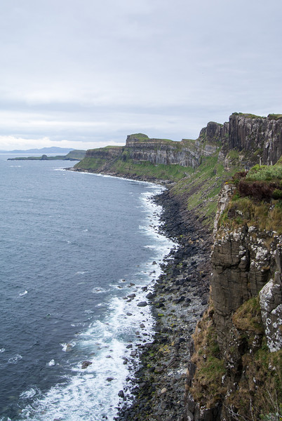 East coast of the Isle of Skye just south of Staffin.