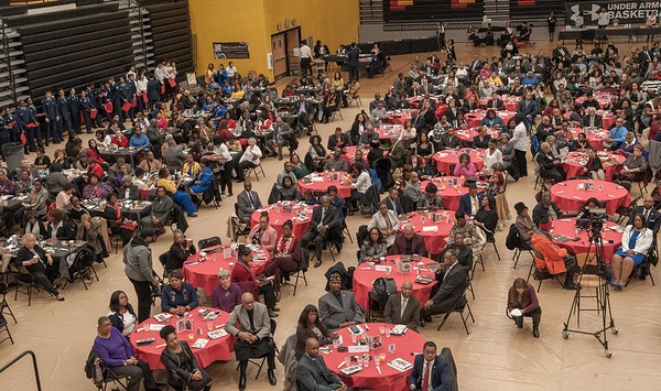 Dr. King Prayer Breakfast Pictures