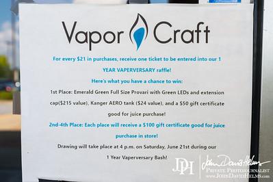2014 06 21 1 Year Vaperversary at Vapor Craft
