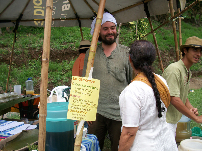 Mahat shared a booth with a friend selling some REALLY TASTY treats (Mahat - can you please elaborate & give contact info).  They also sell bread that the Organic Feria in Escazu on Wednesdays!!