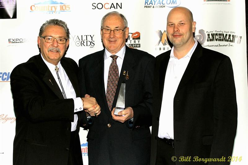 Honourable Gene Zwozdesky, R Harlan Smith, Rob Smith - 2014 ACMAs