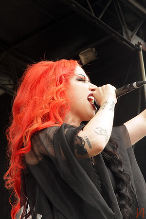 New Years Day @ Warped Tour Ventura 2013