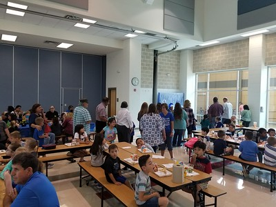 Grandparents Day at Klein Road Elementary