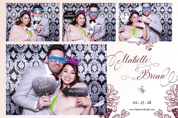 Brian and Mabelle Wedding Photobooth
