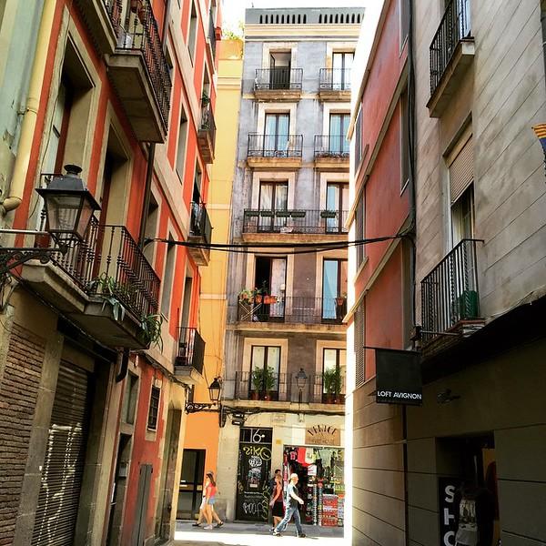 Barcelona Back Streets, Spain