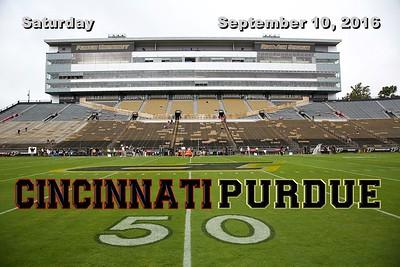 2016 Cincinnati at Purdue (09-10-16)