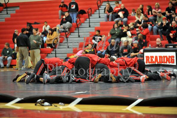 Reading vs Muhlenberg High School Wrestling 2012 - 2013