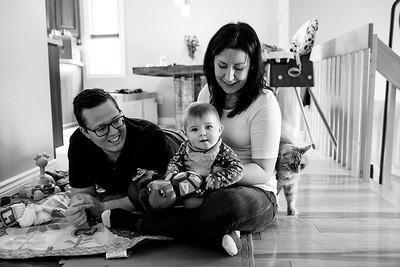 Sandra, Christian et Chloé
